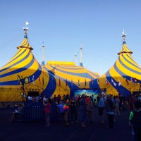 Photo taken at Big Top Cirque du Soleil by Jackie M. on 12/30/2014