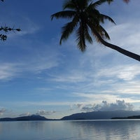 Photo taken at Uepi Island Resort by Jackie M. on 7/10/2016