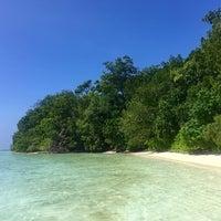 Photo taken at Uepi Island Resort by Jackie M. on 7/12/2016