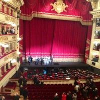 Photo taken at Teatro alla Scala by Fiorella M. on 10/28/2012
