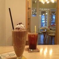 Photo taken at Cafe Billy by jihyun K. on 12/7/2013