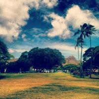 Photo taken at Ala Wai Golf Course by Kimo on 7/14/2013