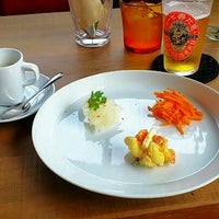 Photo taken at CAFE六丁目 by Sarubryo on 6/30/2013