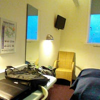 Photo taken at Cabinn Hotel Esbjerg by Jan V. on 1/20/2014