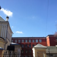 Photo taken at Пироговская школа by Екатерина Ш. on 10/17/2013