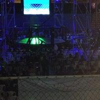 Photo taken at Coliseo Aldo Chamochumbi by Susan O. on 5/25/2014