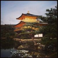 Photo taken at Kinkaku-ji Temple by masa0x80 on 2/9/2013
