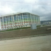 Photo taken at Olympic Village by Oxana on 6/16/2013