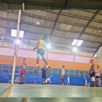 Photo taken at Ginásio de poliesportivo Manoel Silva by Raphael M. on 4/11/2015