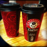Photo taken at California Coffee by 🎀 Priscilla P. on 10/14/2012