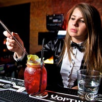 Photo taken at Johnnie Walker Whisky Lounge by Маша Т. on 10/21/2014