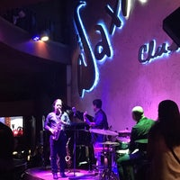 Photo taken at Saxn'art Jazz Club by Matt G. on 10/27/2017