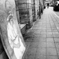Photo taken at Kazinczy utca by Szabo Z. on 10/19/2013