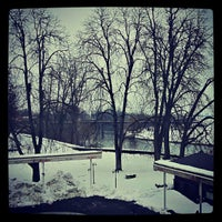 Photo taken at Korana Srakovcic Hotel Karlovac by Saverio F. on 2/17/2013