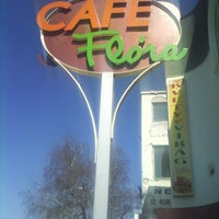 Photo taken at Cafe Flora by Peter O. on 4/15/2013