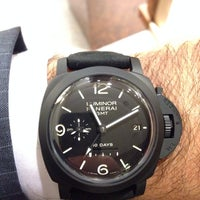 Photo taken at Panerai İstanbul Boutique by S. S. on 10/8/2013