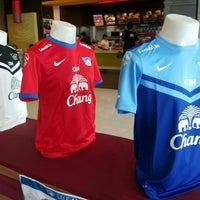 Photo taken at Chonburi F.C. Superstore by Qu s. on 12/16/2015