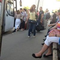 Photo taken at Остановка Москва - Оболенск by Анастасия Л. on 6/14/2013