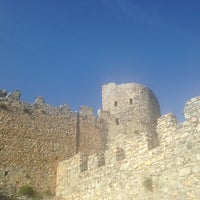 Photo taken at Saint Hilarion Castle by Artun Sahin K. on 2/24/2013