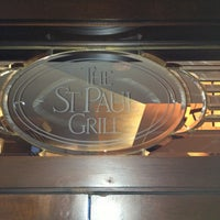 Photo taken at St. Paul Grill by Mark G. on 4/19/2013