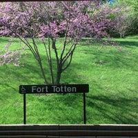 Photo taken at Fort Totten Metro Station by Sean M. on 4/20/2013