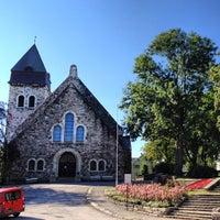 Photo taken at Ålesund kirke by Evgeniya K. on 8/23/2013