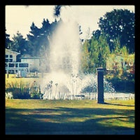 Photo taken at Wild Duck Holiday Park - Haven by Karen G. on 9/17/2012