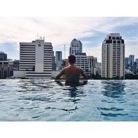 Photo taken at Swimming Pool@Sivatel Hotel by Sasha K. on 9/10/2014