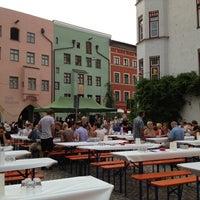 Photo taken at Wasserburger Weinfest by Mario G. on 7/27/2013