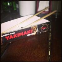 Photo taken at Yakimaki Temakeria by Fabio L. on 2/18/2013