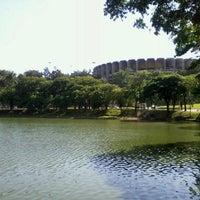 Photo taken at Lagoa da Pampulha by Cliff t. on 12/7/2012