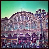 Photo taken at Torino Porta Nuova Railway Station (TPY) by jaddan b. on 12/18/2012