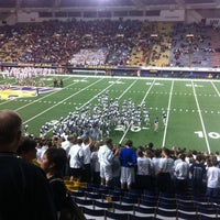Photo taken at UNI-Dome by Nick B. on 11/10/2012