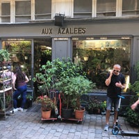 Photo taken at Aux Azalées by Adam R. on 5/8/2018