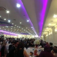 Photo taken at Prince & Princess Wedding Hall by M.E. K. on 11/24/2012