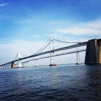 Photo taken at Chesapeake Bay Bridge by Royal R. on 6/10/2013