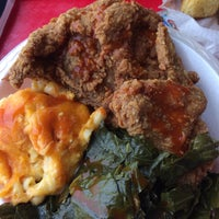 Photo taken at Paschal's Southern Cuisine by Joanie O. on 9/28/2015