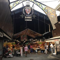 Photo taken at Mercat de Sant Josep - La Boqueria by Anna P. on 7/17/2013