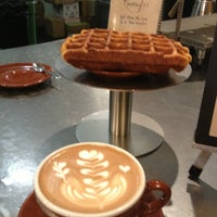 Photo taken at Blue Bottle Coffee by Michael B. on 4/1/2013