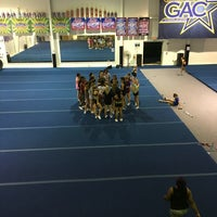 Photo taken at Greensboro All- Star Cheerleading by Kristin S. on 6/29/2016