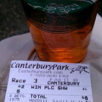 Photo taken at Canterbury Park by BuckyBadgerGuy on 7/3/2013