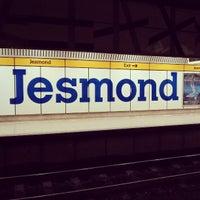 Photo taken at Jesmond Metro Station by Petros A. on 3/10/2013