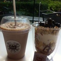 Photo taken at Mink Chocolate and Coffee by Yuko H. on 6/18/2013