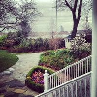 Photo taken at Gracie Mansion by Jennifer M. on 4/17/2013