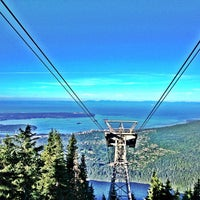 Photo taken at Top of Grouse Grind by Dai M. on 7/24/2013