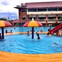 Photo taken at Villa Carmelita In-Land Resort & Hotel by Mark A. on 3/30/2014
