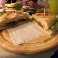 Photo taken at La Famosa Sandwichería by Juan O. on 9/29/2018