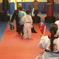 Photo taken at Atomic Tae Kwon Do by Meredith A. on 4/14/2014