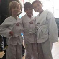 Photo taken at Atomic Tae Kwon Do by Meredith A. on 4/17/2014