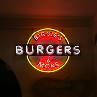 Photo taken at Biggie's Burgers by James P. on 11/15/2012